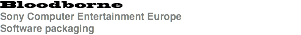 Bloodborne Sony Computer Entertainment Europe Software packaging